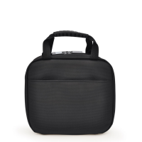 Torba lunchowa Iris Twin City z 2 lunchboxami czarna