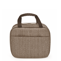 Torba lunchowa Iris Twin City z 2 lunchboxami szara