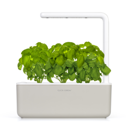 Inteligentna donica Click and Grow Smart Garden 3 mellow beige